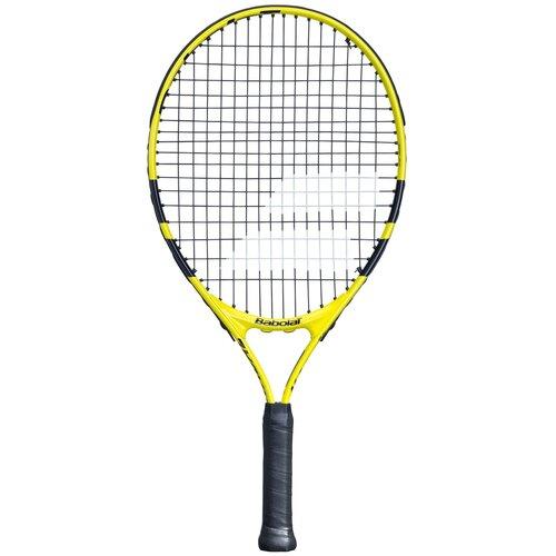 Ракетка для большого тенниса Babolat Nadal Junior 21 21'' 000 черный/желтый babolat ракетка для большого тенниса babolat pure strike team размер 3
