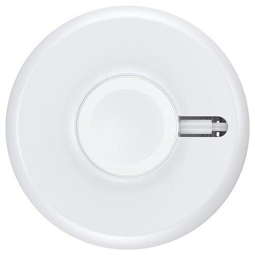 Фото - Беспроводная сетевая зарядка Baseus YOYO, белый беспроводная сетевая зарядка baseus silicone horizontal desktop wireless charger белый