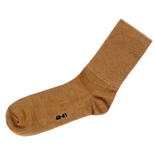 Носки Doctor из верблюжьей шерсти на полную ногу, Бежевый, 27 (размер обуви 40-41)