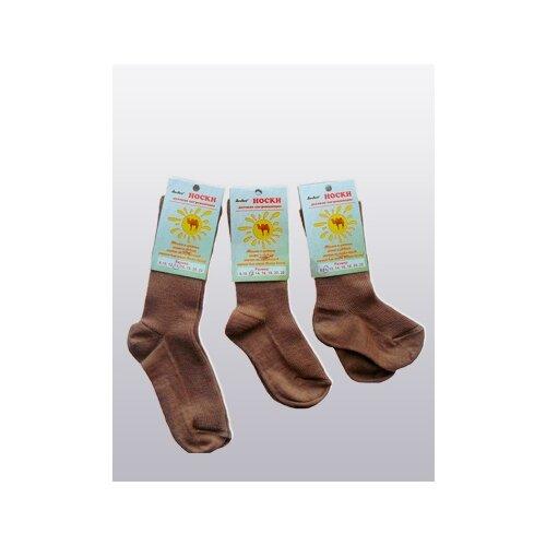 Носки Doctor детские из верблюжьей шерсти тонкие, Коричневый, 20 (размер обуви 34) носки из шерсти высокие колючие носки из шерсти wsc601