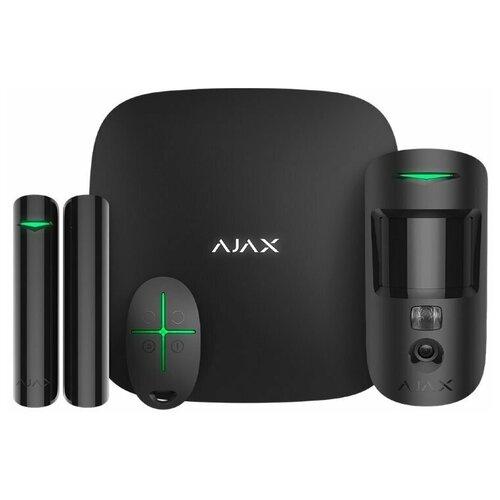 Комплект умного дома Ajax StarterKit Cam Plus Black