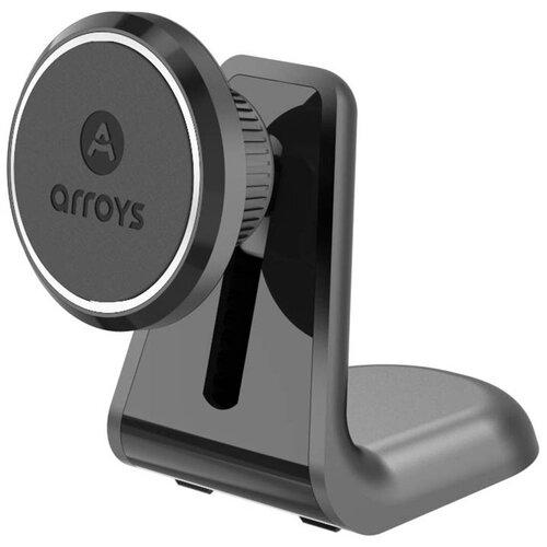 Магнитный держатель на 3М скотче Arroys Stick-RM1 black
