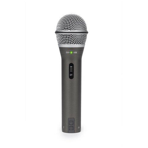Микрофон Samson Q2U, серый