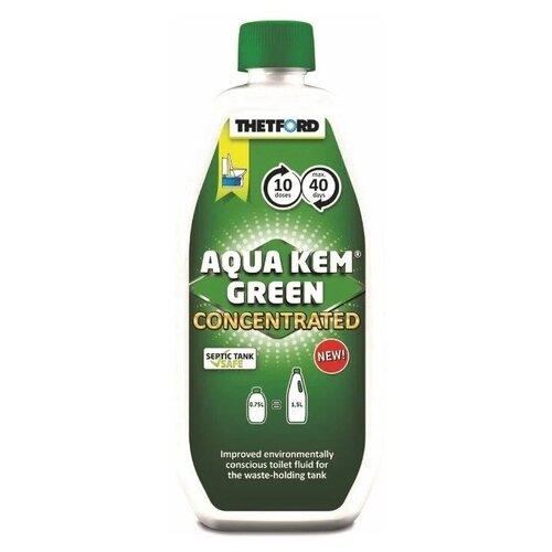 Фото - Жидкость для нижнего бака биотуалета Thetford Aqua Kem Green Concentrated, 0,75л расщепитель для нижнего бака thetford aqua kem blue