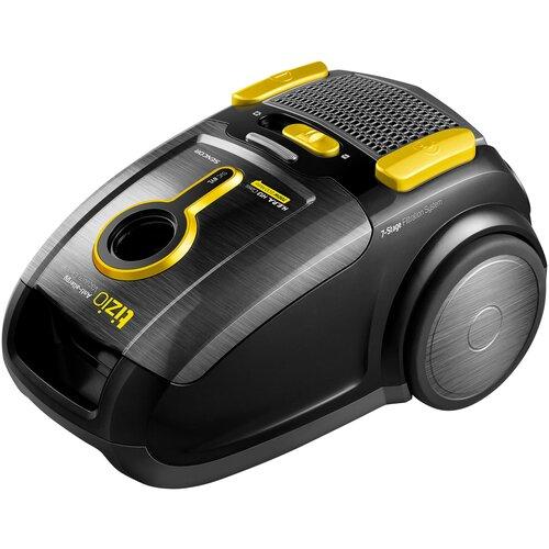 Пылесос Sencor SVC 8 YL, черный/желтый робот пылесос sencor svc 9031 черный
