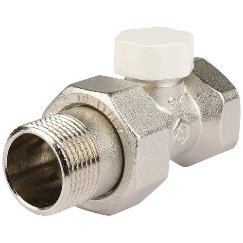 Фото - Запорный клапан STOUT SVL 1176 муфтовый (ВР/НР), латунь, для радиаторов Ду 20 (3/4) запорный клапан зубр ширефит 51571 20 муфтовый вр вр ду 20 3 4