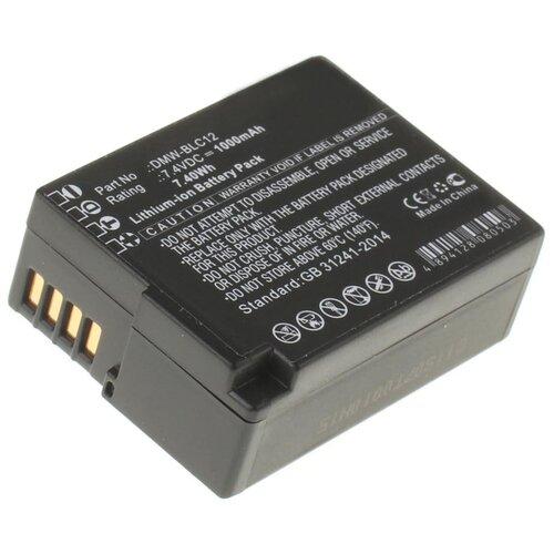 Фото - Аккумулятор iBatt iB-B1-F224 1000mAh для Leica, Panasonic DMW-BLC12E, DMW-BLC12, BP-DC12, аккумулятор panasonic dmw blc12e для fz1000 fz300 g5 g6 gh2 fz200 gx8