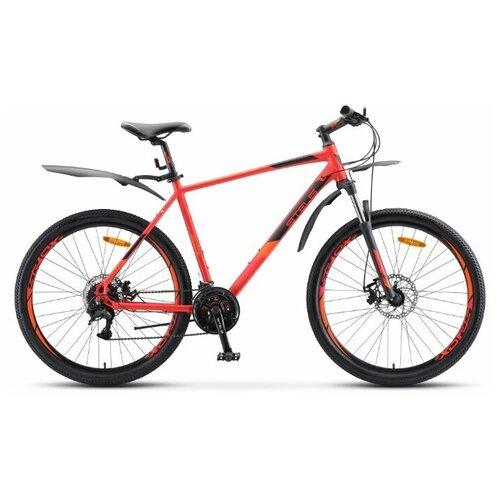 детский велосипед navigator basic вн20219 красный требует финальной сборки Велосипед Stels Navigator 745 MD 27.5 V010 (2020) 17 красный (требует финальной сборки)