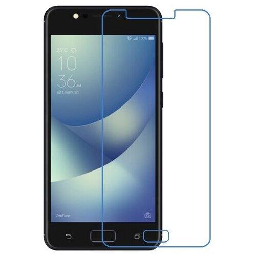 Защитная пленка MyPads (только на плоскую поверхность экрана НЕ закругленная) для телефона ASUS ZenFone 4 Max ZC520KL (A006/4A032RU) глянцевая