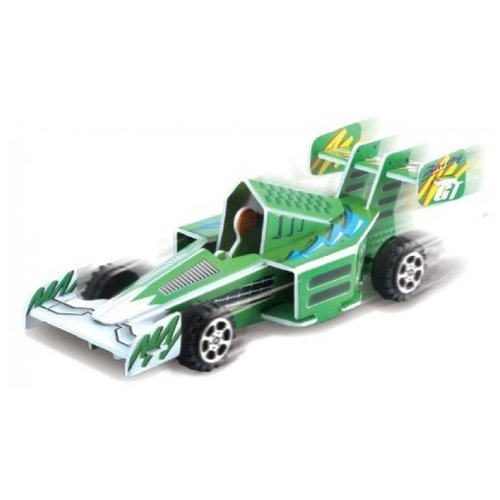 3D-пазл Pilotage 3D Гоночная машина зеленая (RC38107), 28 дет. машина радиоуправляемая pilotage topracer xb