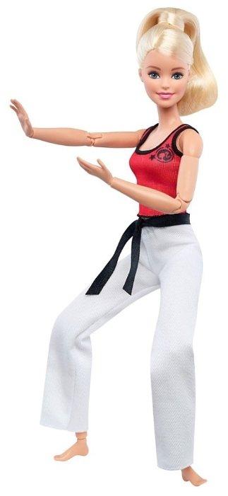 Кукла Barbie Безграничные движения Каратистка, 29 см, DWN39