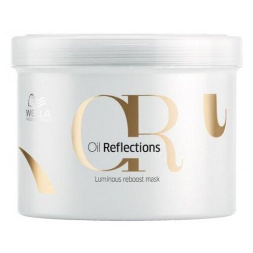 Wella Professionals OIL REFLECTIONS Маска для интенсивного блеска волос, 500 мл бальзам для интенсивного блеска волос 200 мл wella professional reflections oil