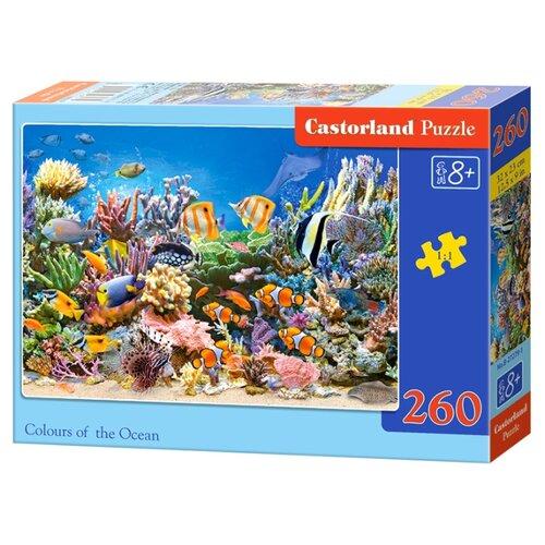 Купить Пазл Castorland Colors of the Ocean (B-27279), 260 дет., Пазлы