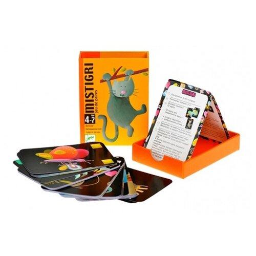 Настольная игра DJECO Карточная игра Мистигри настольная игра анимо djeco настольная игра анимо