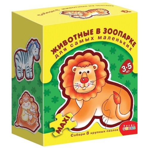 цена на Набор пазлов Дрофа-Медиа ДСМ Животные в зоопарке (1087)