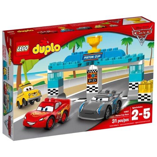 Купить Конструктор LEGO Duplo 10857 Гонка за Кубок Поршня, Конструкторы