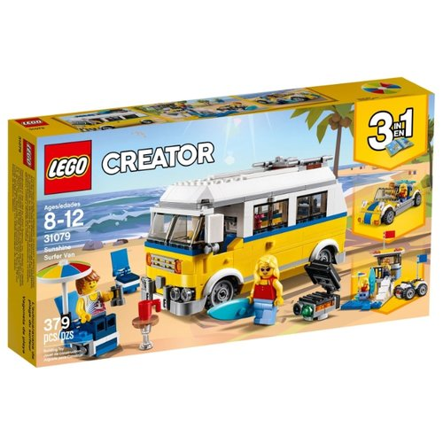 Фото - Конструктор LEGO Creator 31079 Фургон сёрферов конструктор creator lego lego mp002xb0085w