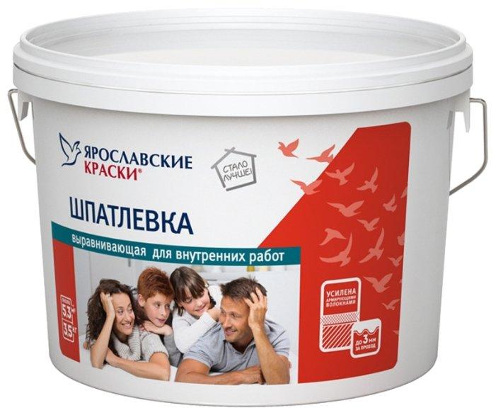 Шпатлевка Ярославские краски выравнивающая для внутренних работ