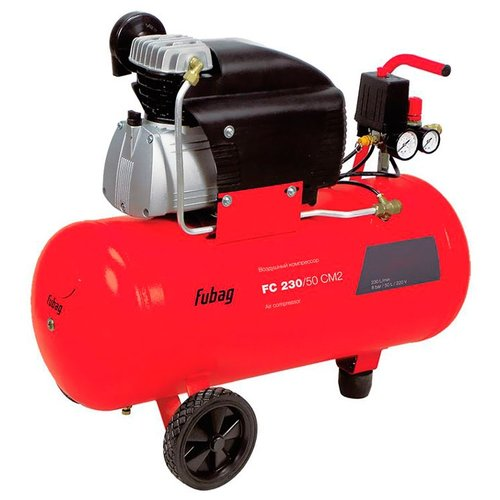 Фото - Компрессор масляный Fubag FC 230/50 CM2, 50 л, 1.5 кВт компрессор масляный fubag b5200b 200 ct4 200 л 3 квт