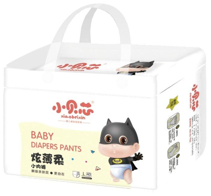 Xiaobeixin трусики Активный малыш L (9-13 кг) 40 шт.