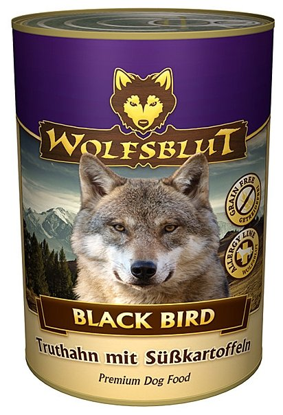 Корм для собак Wolfsblut Консервы Black Bird