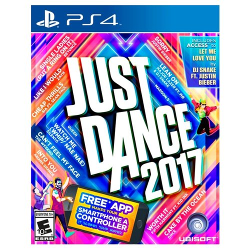 Игра для PlayStation 4 Just Dance 2017 just dance 2017 только для ps move ps3