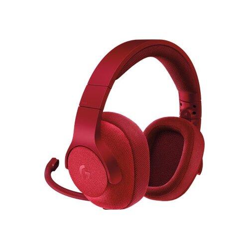 Купить Компьютерная гарнитура Logitech G G433 красный