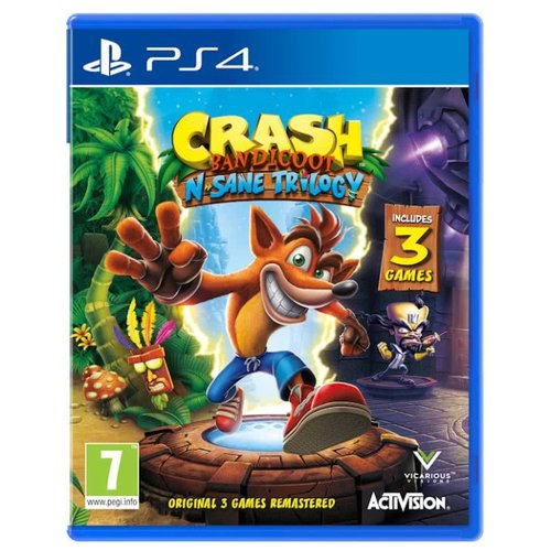 Игра для PlayStation 4 Crash Bandicoot N-Sane Trilogy game deals play station crash bandicoot n sane trilogy ps4