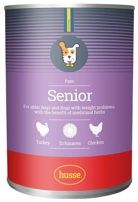 Корм для собак Husse Консервы для пожилых собак Senior Pate