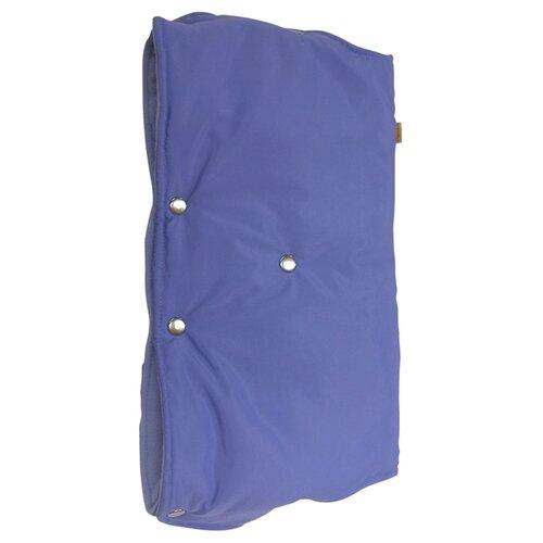 Купить Чудо-Чадо Муфта для рук флис/кнопки голубой, Аксессуары для колясок и автокресел