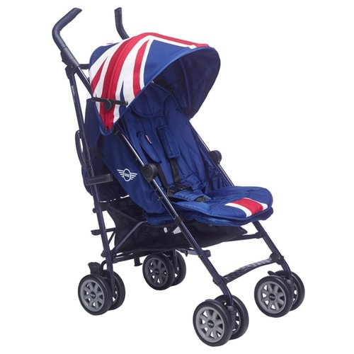 Прогулочная коляска Easywalker Buggy Mini XL Union Jack classic коляска 2 в 1 easywalker harvey shadow blue