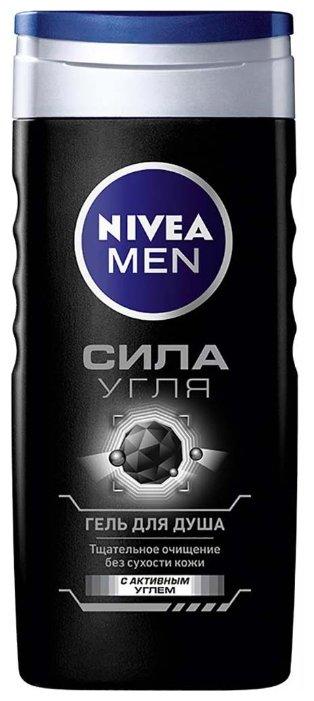 Гель для душа Nivea Men Сила угля