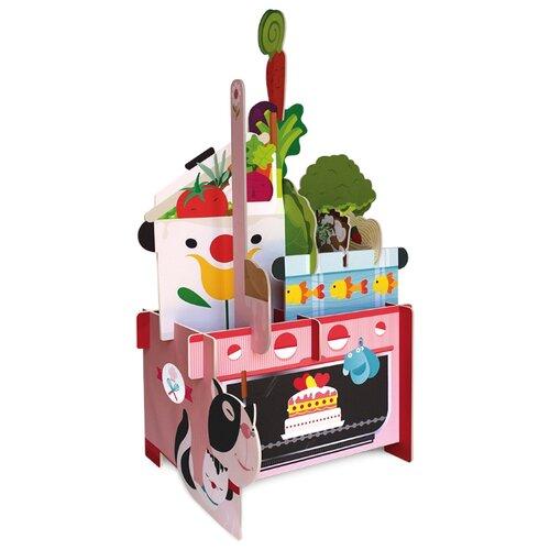 Купить 3D-пазл ГеоДом 3D Моя кухня (4607177454146) + книга, 14 дет., Пазлы