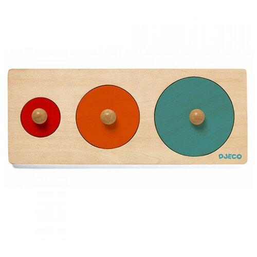 Купить Рамка-вкладыш DJECO Размер (06201), 3 дет., Пазлы