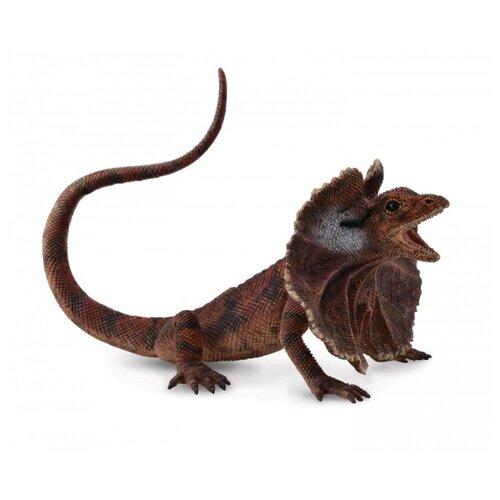 Купить Фигурка Collecta Плащеносная ящерица 88690, Игровые наборы и фигурки