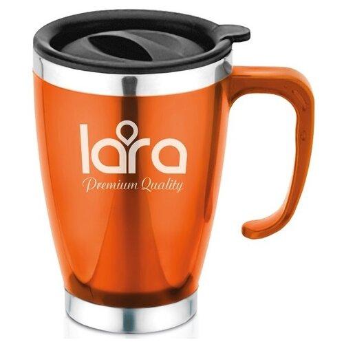 Термокружка LARA LR04-38, 0.4 л оранжевый