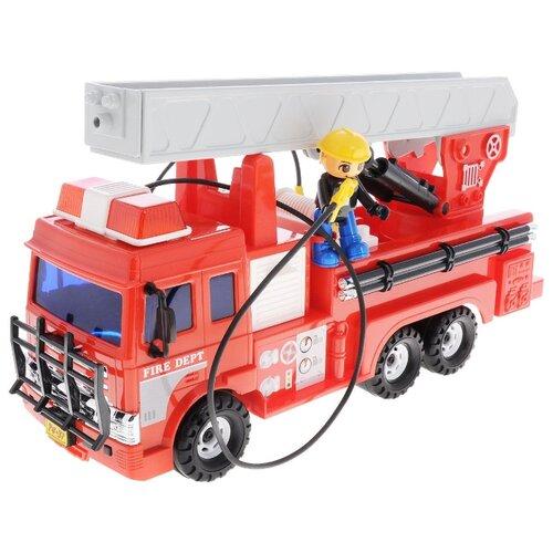 Пожарный автомобиль Daesung Toys 926, 36.5 см, красный