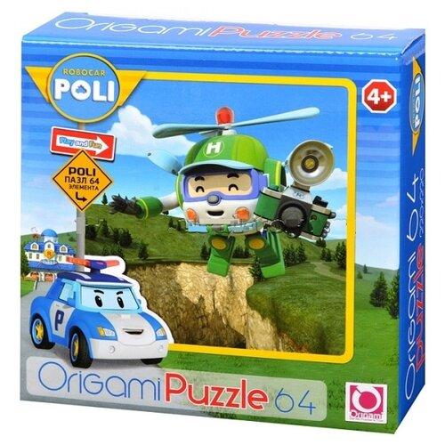 Купить Пазл Origami Robocar Poli (05905), 64 дет., Пазлы