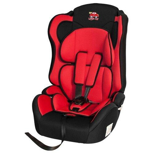 Автокресло группа 1/2/3 (9-36 кг) Little Car Comfort, красный автокресло группа 1 2 3 9 36 кг little king lk 03 isofix черный красный