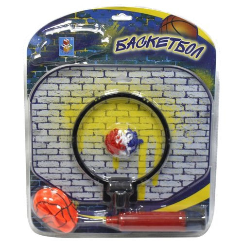 Купить Набор для игры в баскетбол 1 TOY (Т59864), Спортивные игры и игрушки
