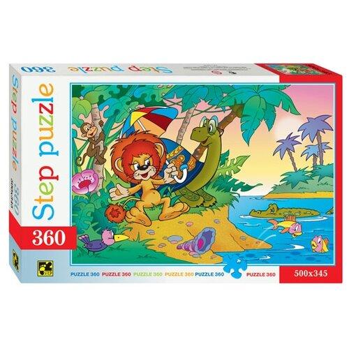 Пазл Step puzzle Союзмультфильм Львенок и Черепаха (73006), 360 дет.Пазлы<br>