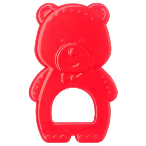 Прорезыватель Happy Baby Color Bear ruby комплект happy bear