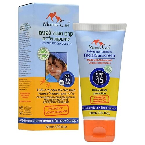 Mommy Care крем Babies and Toddlers Facial SPF 15 60 мл.