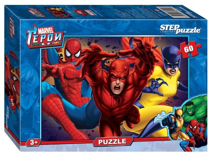 Пазл Step puzzle Marvel Герои Marvel (81112), 60 дет.