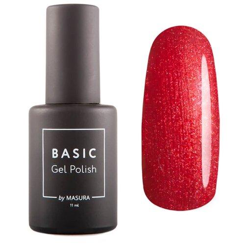 Гель-лак для ногтей Masura Basic, 11 мл, красный чили  - Купить