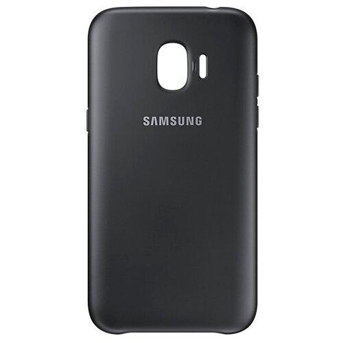 Чехол-накладка Samsung EF-PJ250 для Galaxy J2 (2018) / J2 Pro (2018) черный чехол накладка araree gp j250kdcp для samsung galaxy j2 2018 j2 pro 2018 синий