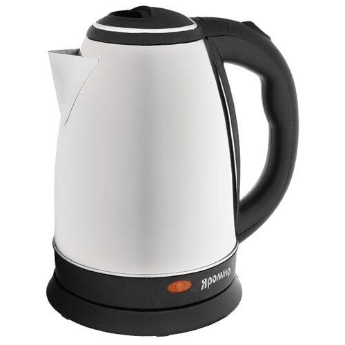 Чайник Яромир ЯР-1003, черный/серебристый чайник электрический яромир яр 1056