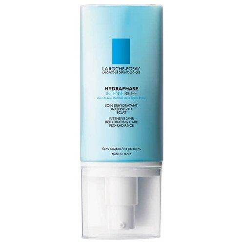 La Roche-Posay Hydraphase Intense Riche Интенсивное увлажняющее средство для лица для обезвоженной нормальной и сухой чувствительной кожи, 50 мл hydraphase intense legere
