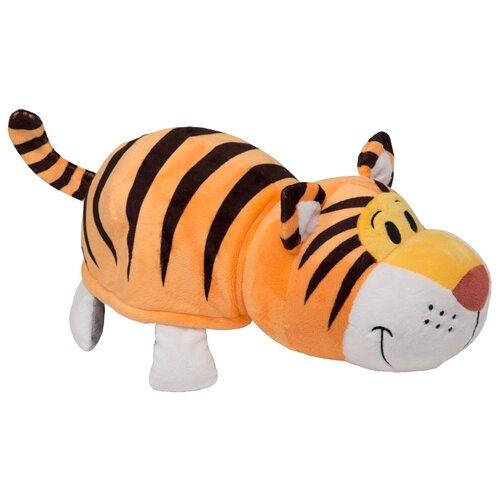 Мягкая игрушка 1 TOY Вывернушка Тигр-Слон 20 см мягкая игрушка вывернушка 40 см 2в1 тигр черепаха