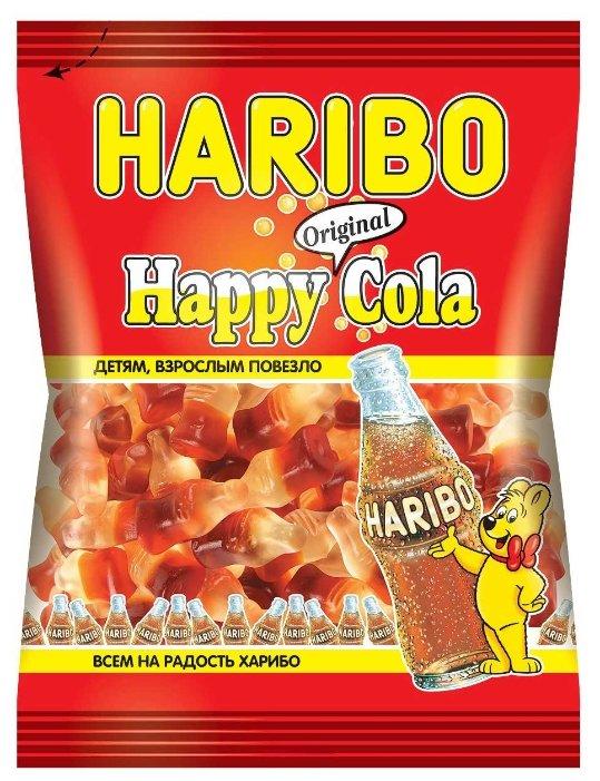 Мармелад жевательный Haribo Веселая Кола пак 70г